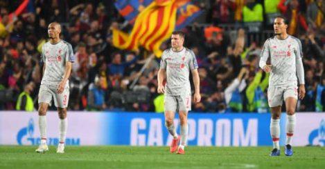 Liverpool players Barcelona
