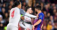 Luis Suarez Andy Robertson Barcelona Liverpool