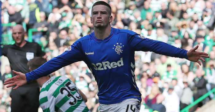 Ryan Kent Rangers Celtic
