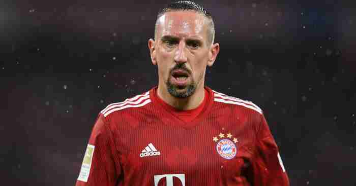 6e5a06488 Franck Ribery up for grabs as Bayern Munich confirm winger s exit ...