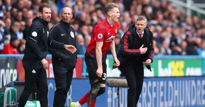 Scott McTominay Ole Gunnar Solskjaer Manchester United