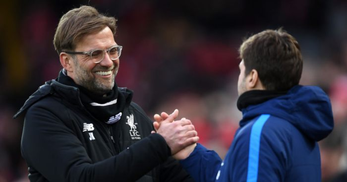 Jurgen Klopp Mauricio Pochettino Liverpool Tottenham