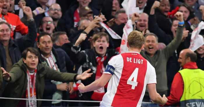 Matthijs de Ligt Ajax Tottenham