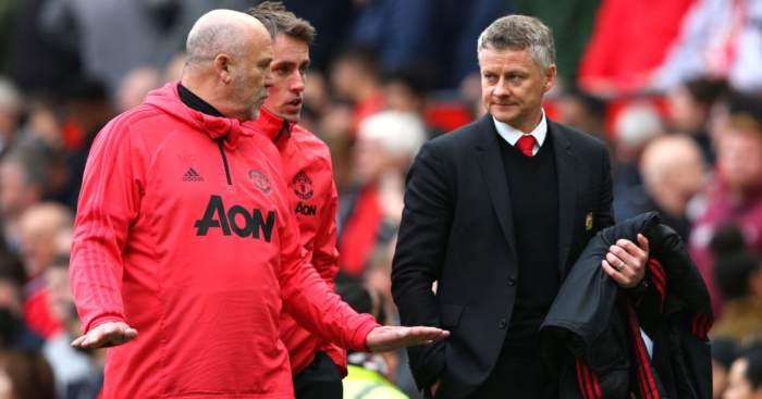 Mike Phelan Ole Gunnar Solskjaer Manchester United