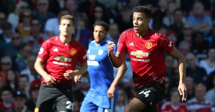 Image result for manchester united 0-2 cardiff city Mason Greenwood