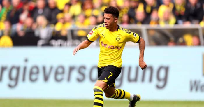 Jadon Sancho Borussia Dortmund Jadon Sancho