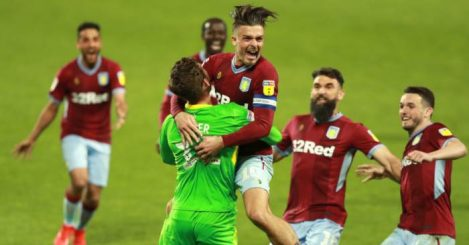 Aston Villa Jed Steer Jack Grealish