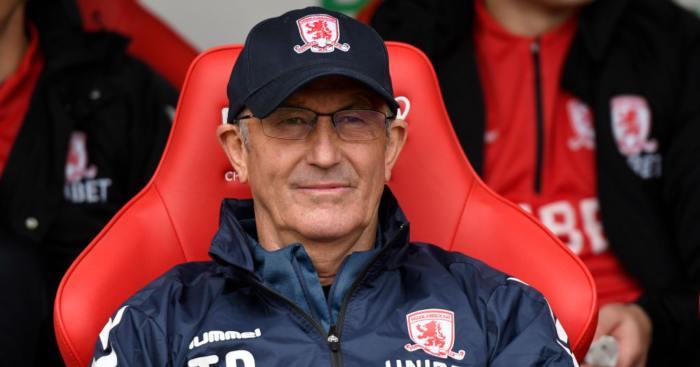 Tony Pulis Middlesbrough