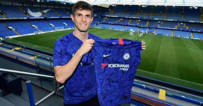Christian Pulisic Chelsea Man Utd