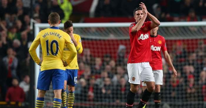 Robin van Persie Arsenal Manchester United