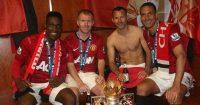 Paul Scholes Rio Ferdinand Manchester United