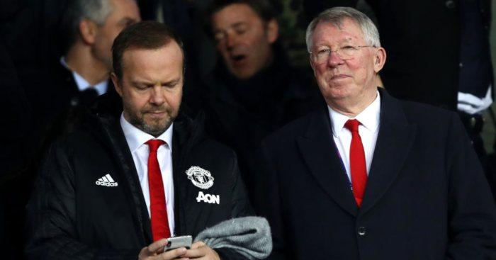 Sir Alex Ferguson Ed Woodward Manchester United