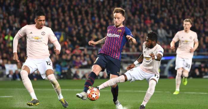Ivan Rakitic Barcelona Manchester United