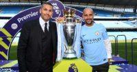 Khaldoon Al Mubarak Pep Guardiola Manchester City