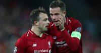 Jordan Henderson Xherdan Shaqiri Liverpool