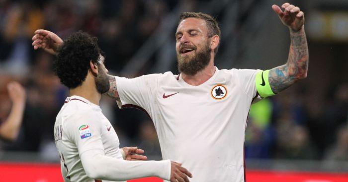 Daniele de Rossi Mohamed Salah Roma