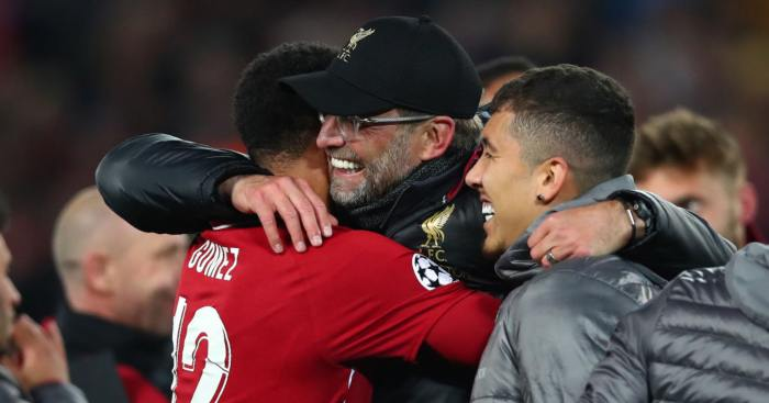 Joe Gomez Jurgen Klopp Liverpool