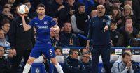 Maurizio Sarri Jorginho Chelsea