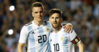 Giovani Lo Celso Lionel Messi Argentina