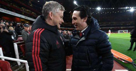 Ole Gunnar Solskjaer Unai Emery Manchester United Arsenal