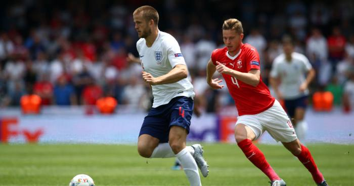 Eric Dier England Switzerland