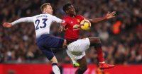 Christian Eriksen Paul Pogba Tottenham Manchester United