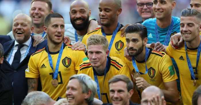 Yannick Carrasco Belgium squad