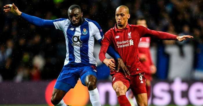 Moussa Marega Fabinho Porto Liverpool