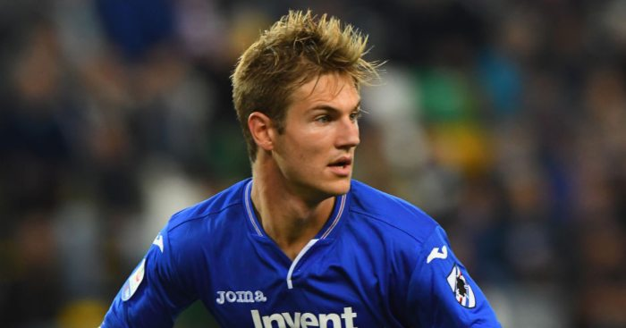 Joachim Andersen Sampdoria