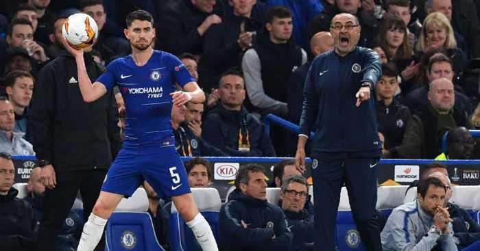Jorginho Maurizio Sarri Chelsea