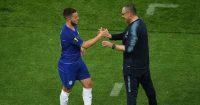 Eden Hazard Maurizio Sarri Chelsea