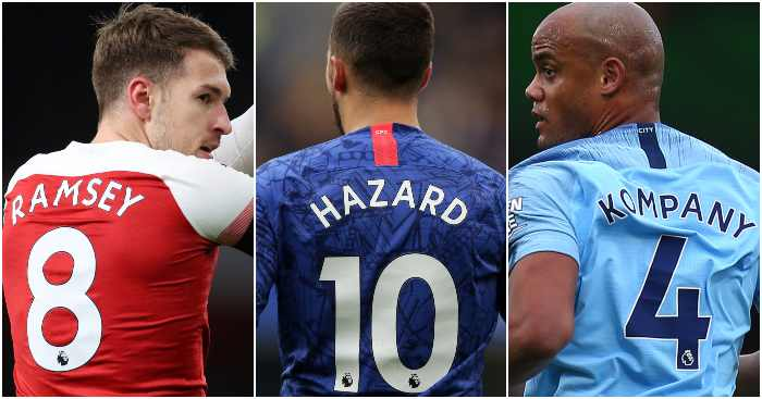 Every Premier League Club S Notable Vacant Shirt Numbers Football News