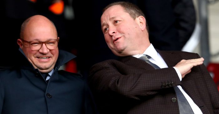 Mike Ashley Newcastle United