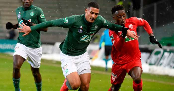 William Saliba St Etienne