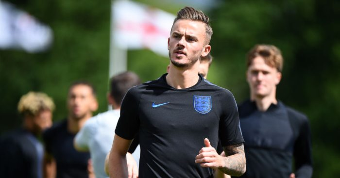 James Maddison England Leicester City
