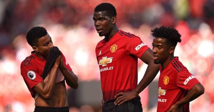 Jesse Lingard Paul Pogba Manchester United