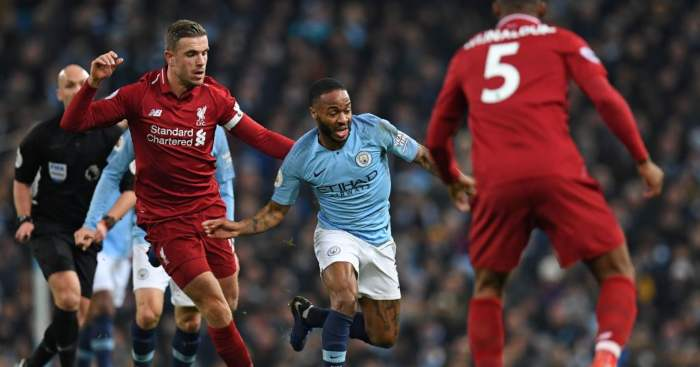 Raheem Sterling Liverpool Manchester City