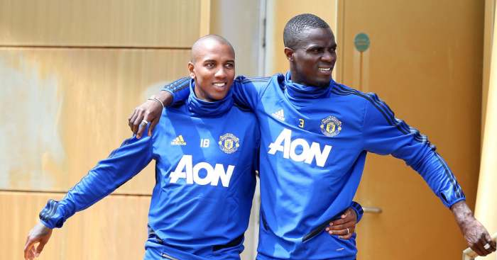 Eric Bailly Ashley Young Manchester United