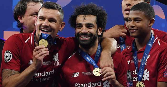 Dejan Lovren Mo Salah Liverpool