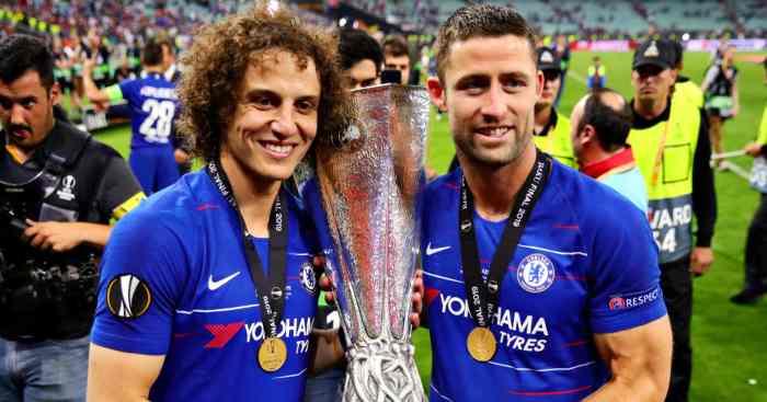 Gary Cahill David Luiz Chelsea