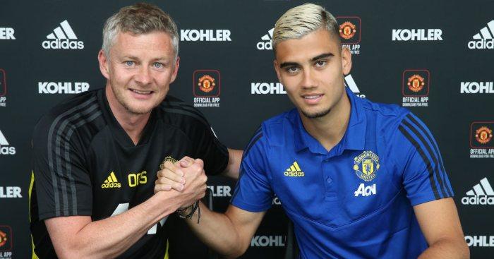 Ole Gunnar Solskjaer Andreas Pereira Manchester United