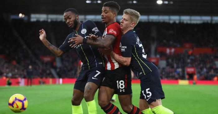 Mario Lemina Southampton Manchester City