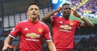 Paul Pogba Alexis Sanchez Manchester United