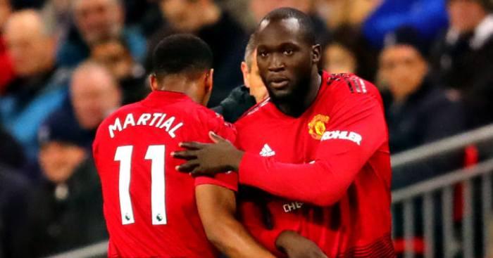 Romelu Lukaku Anthony Martial Manchester United
