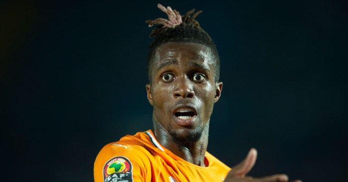 Wilfried Zaha Ivory Coast