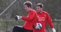 Ben Foster Edwin van der Sar Manchester United