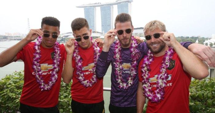 David de Gea Luke Shaw Manchester United