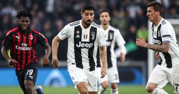 Khedira Everton Juventus