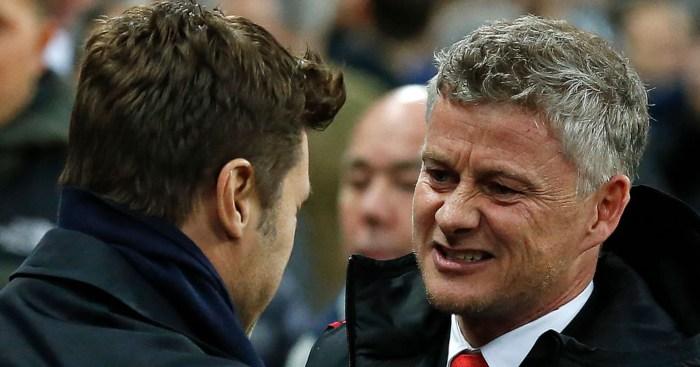 Mauricio Pochettino Ole Gunnar Solskjaer Tottenham Manchester United