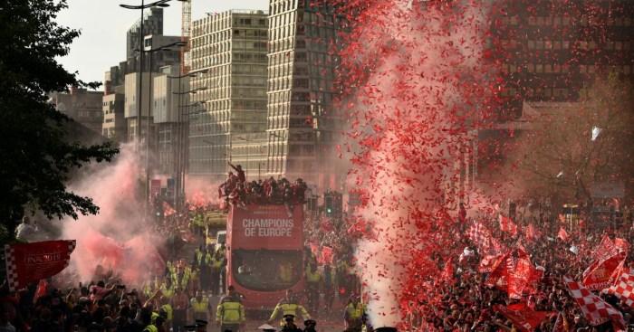 Liverpool victory parade